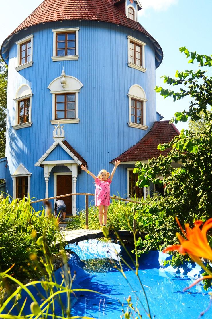 Moomin World in Turku, Finland