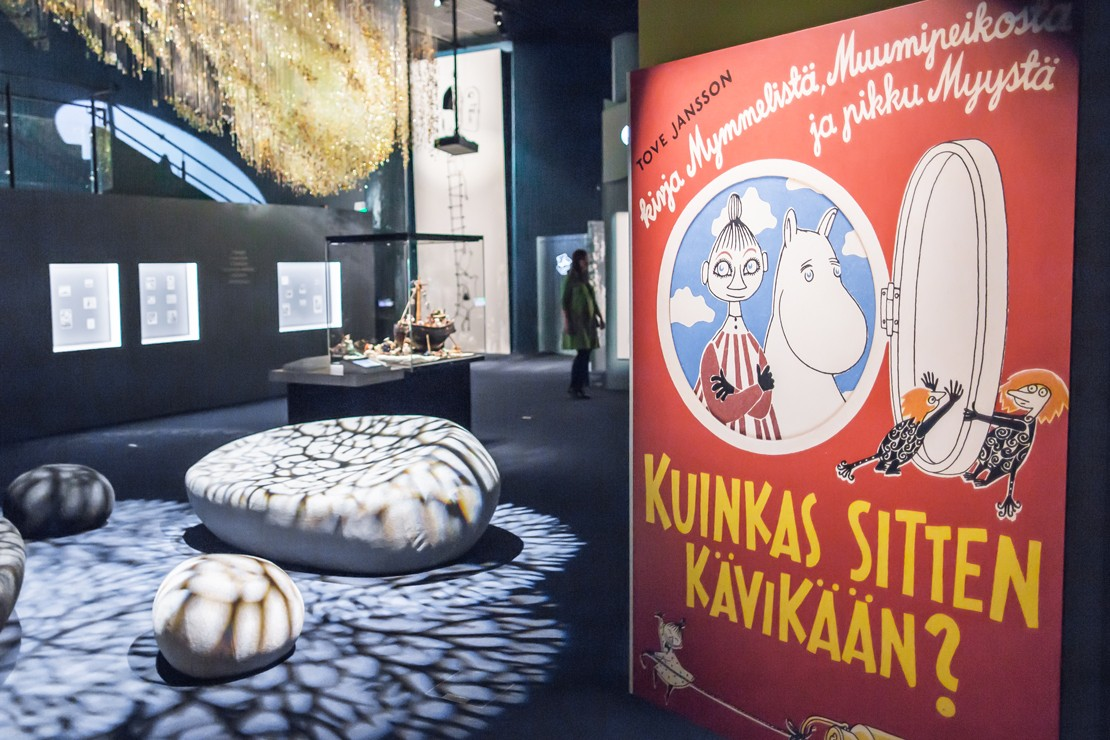 Moomin Museum in Tampere, Finland