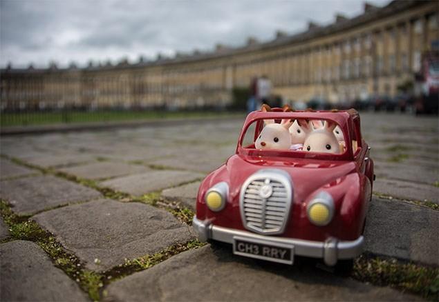 Sylvanian Families take a trip to Bath!