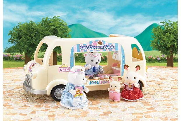The newest collection includes polar bears, who have a knack for business with their ice cream van.