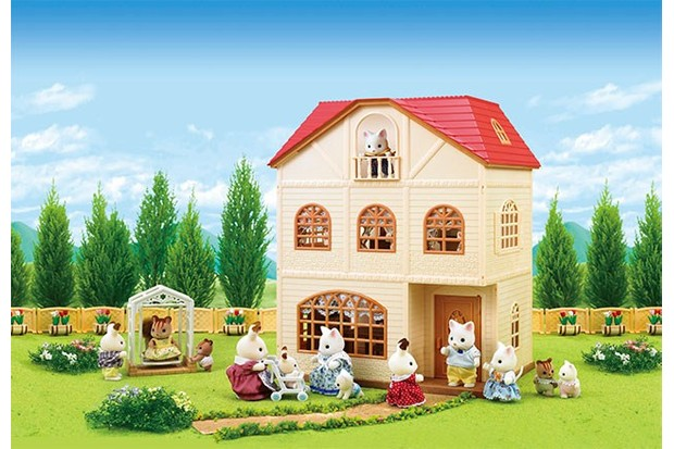 This home includes an outdoor swing so your Sylvanian Families can get some fresh air.