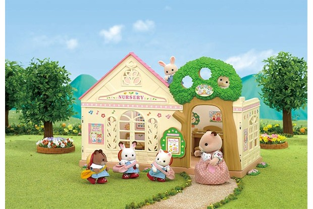 All baby animals are invited to the Sylvanian Nursery!