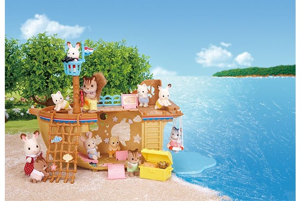 Sylvanian has recently released a shipyard playground.