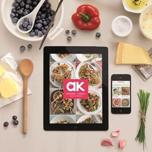 Annabel's new Family Cooking app is available to download now.