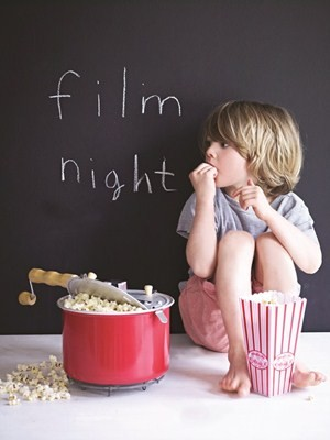 Popcorn and family films - a winning combination