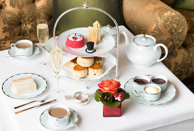 The Dorchester's Mad Hatter's Afternoon Tea Party
