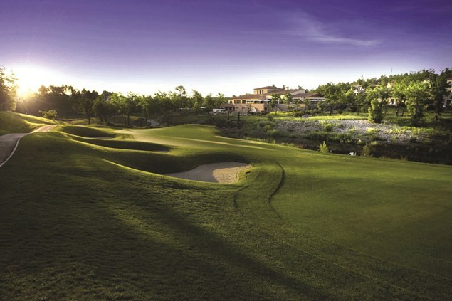 One of the two championship golf courses at Terre Blanche