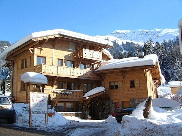 The Chilly Powder chalet