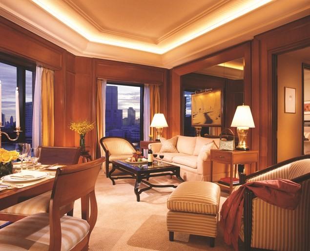 A suite at The Peninsula Bangkok