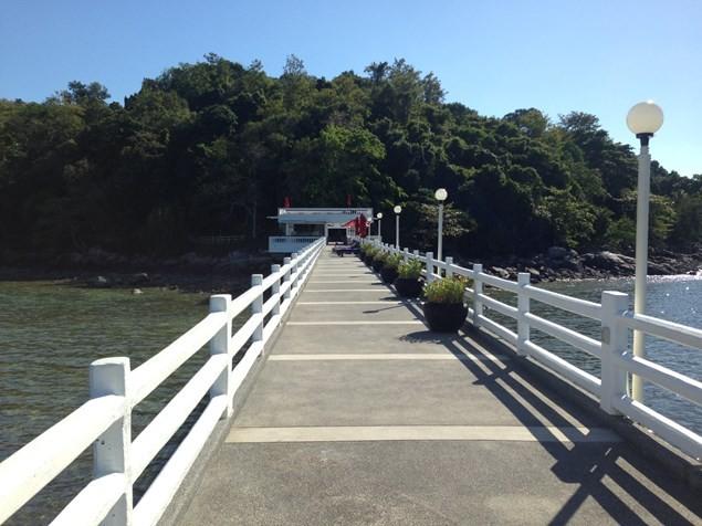 The Amari Phuket's private jetty