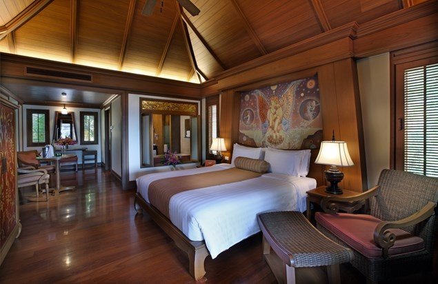 A grand deluxe room