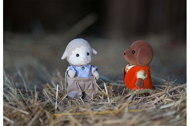 Sylvanian Families love making new friends.