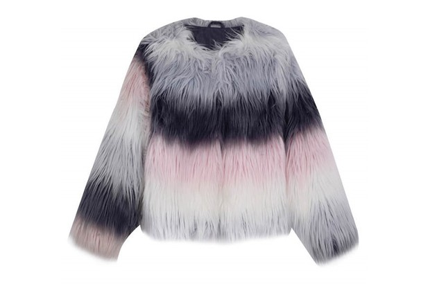Outfit Kids dipped fur coat, £26