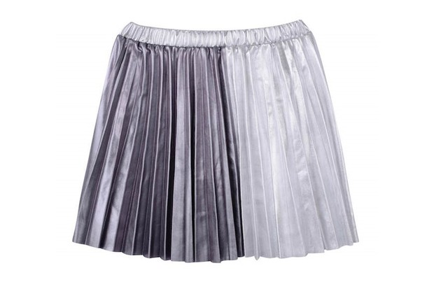 Outfit Kids metallic pleated skirt, £18