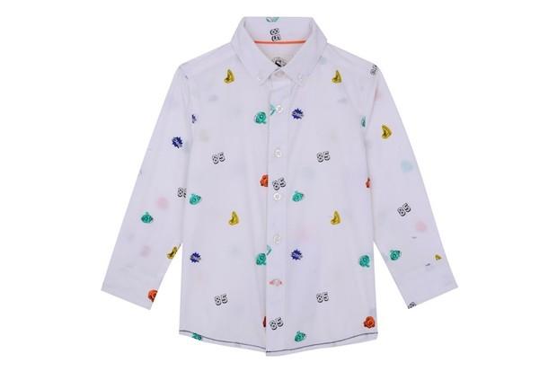 Outfit Kids micro AOP shirt, £14