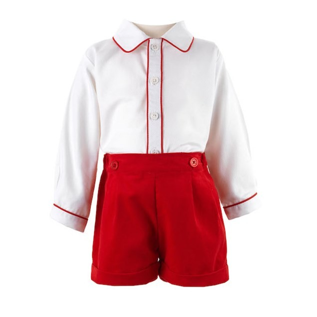 Rachel Riley red and white outfit, £64.95