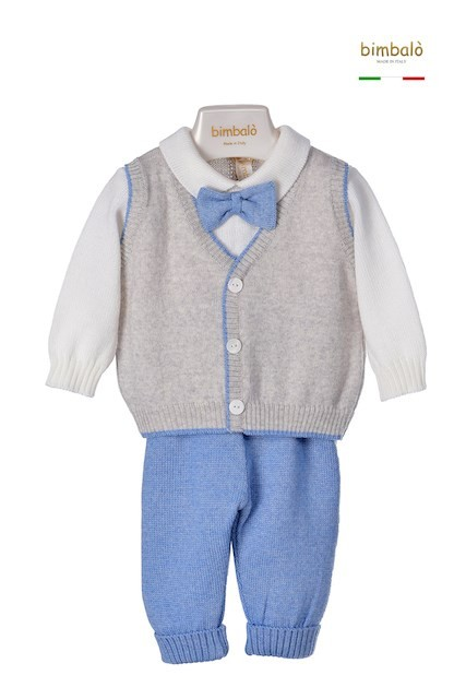 Bimbalo bow tie outfit, £130