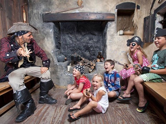 See if a pirate's life is for you at Pirate Quest. (Photo by Pirate Quest)