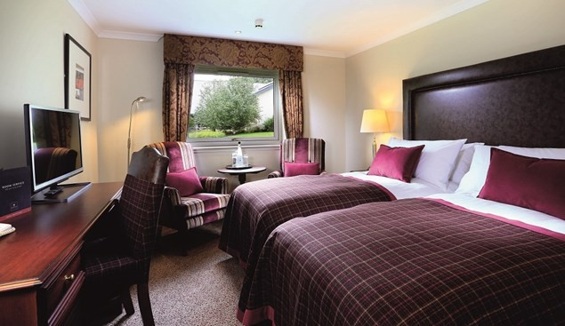 The Highlands Hotel in Aviemore has more than just comfy beds for families.
