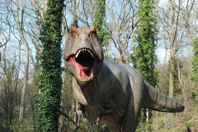 T-Rex at Port Lympne Reserve Dinosaur Forest