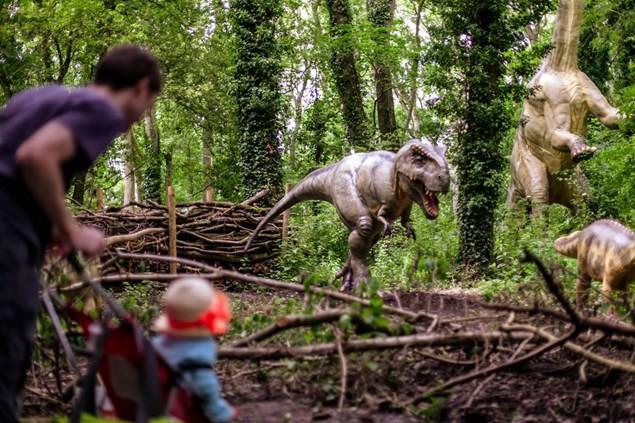 Port Lympne Visiting the Prehistoric Playground