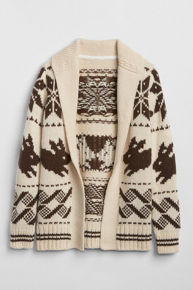 GAP KIDS | SARAH JESSICA PARKER COLLECTION FAIRISLE CARDIGAN (ALSO IN PINK) FROM £34.95