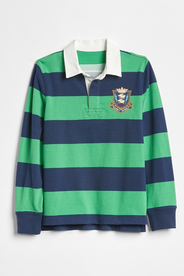 GAP KIDS | SARAH JESSICA PARKER COLLECTION RUGBY TOP FROM £19.95