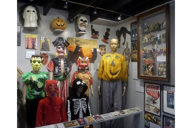 The museum has the world's largest collection of items related to magic and the occult. Photo by Museum of Witchcraft and Magic.