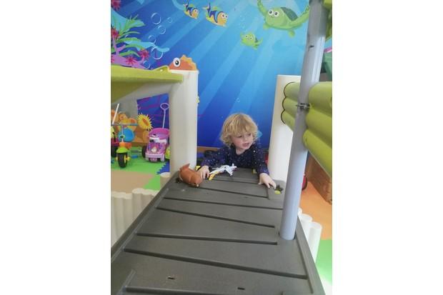 Martha in Dukesy Kids area at Dukes Dubai