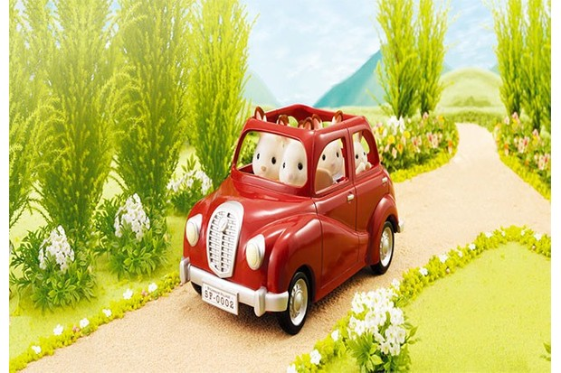This little car is the perfect size for Sylvanian Families.