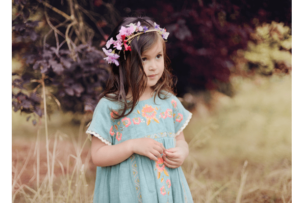 Embroidered Dress from a selection at As We Grow at Scandi Mini