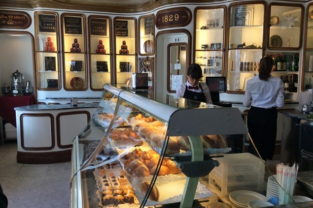 Confeitaria Nacional was founded in 1829 - but the cakes are fresher