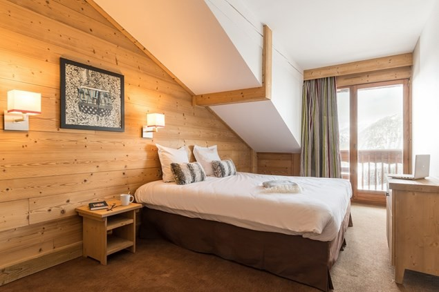 The beds are incredibly comfortable after a day on the piste.
