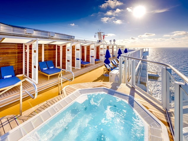Jump in the jacuzzi and sail away to relaxation