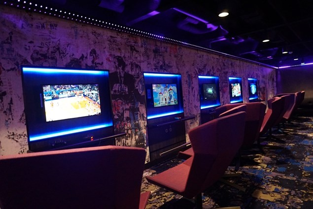 Get competitive in the video games arcade