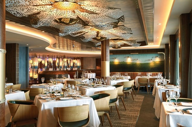 Ocean Blue specialises in seafood - and kids eat for free!
