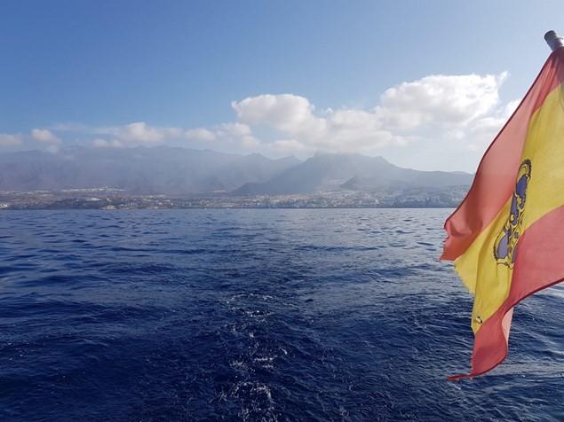 The coastline of Costa Adeje in Tenerife. Photo: Alex Lloyd