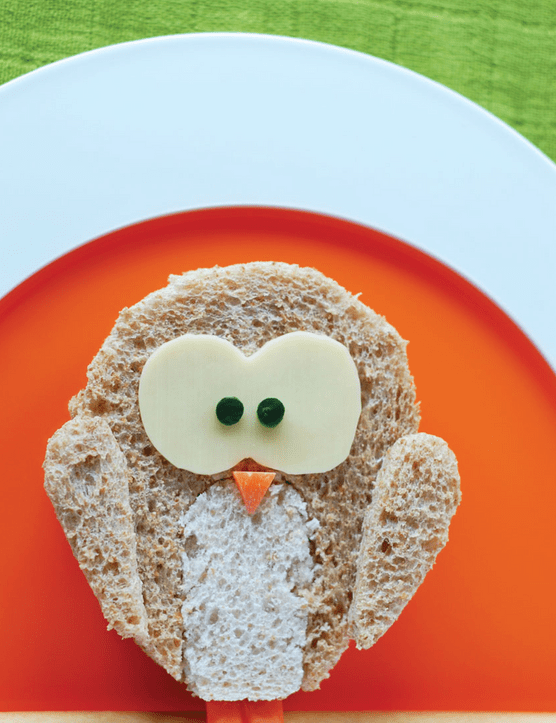 Funky lunch: Twit Twoo sandwich