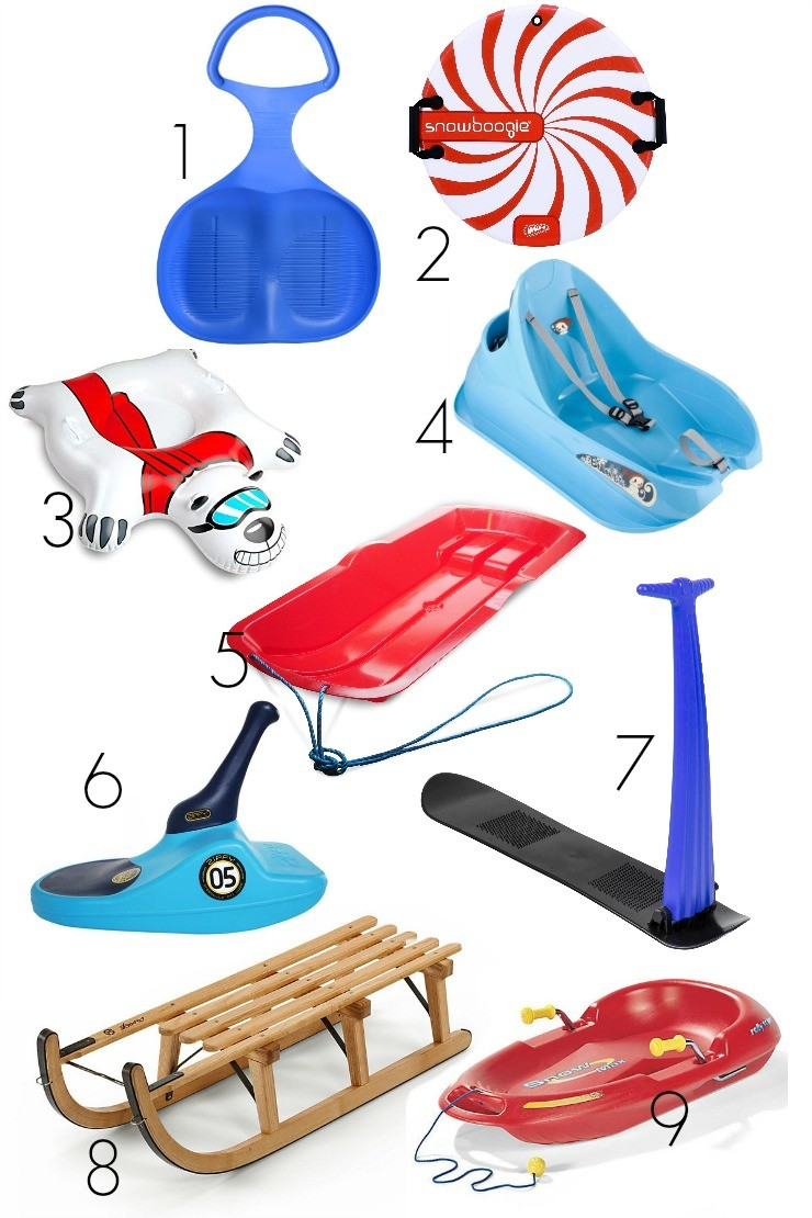 9 of the best sledges and toboggans