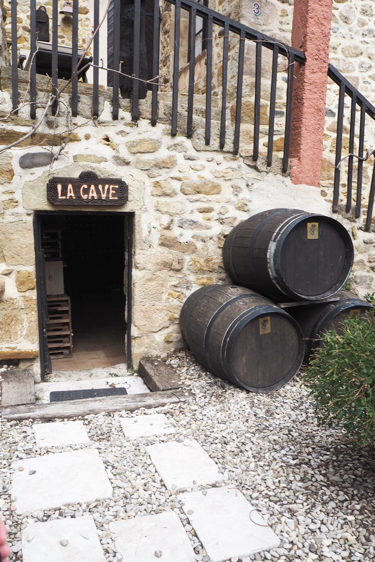 La Cave - a fully stocked wine cellar for you to experience* while you are at Country Kids (*additional charges apply)