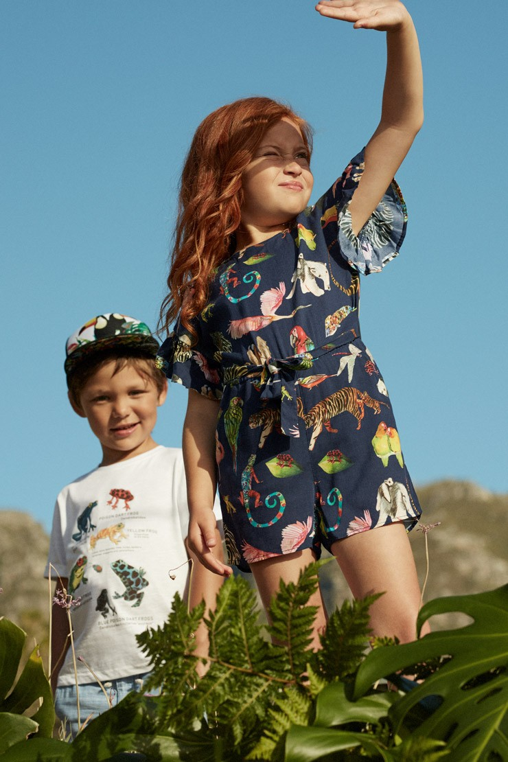 Just Landed: Kate Morgan Studio X H&M kids collection