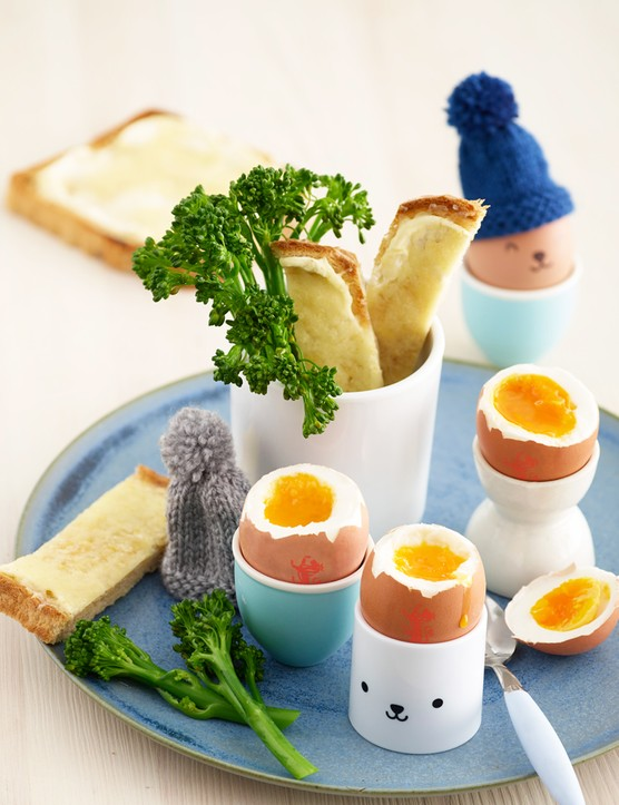 Perfect Boiled Egg and Soldiers for children by Annabel Karmel