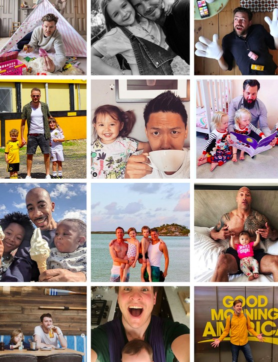 Junior's Favourite Insta Dads