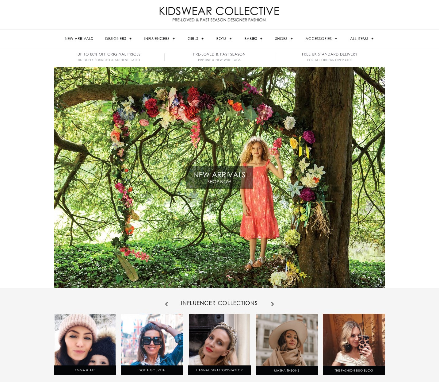 Kidswear Collective Home Page