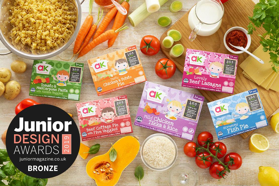 Best Children's Food Brand | Junior Design Awards 2019