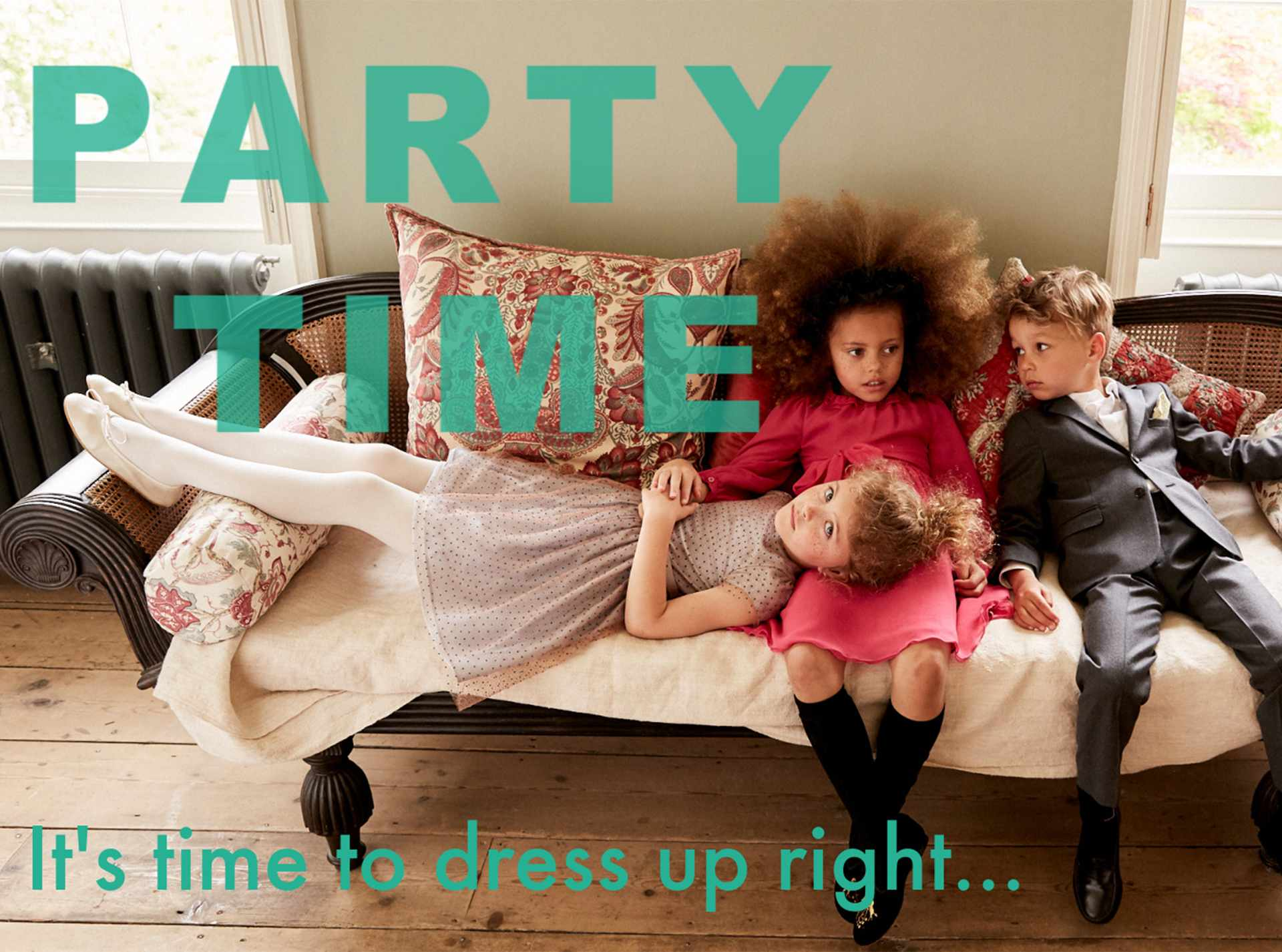 Marie Chantel Party edit for girls and boys | Junior magazine