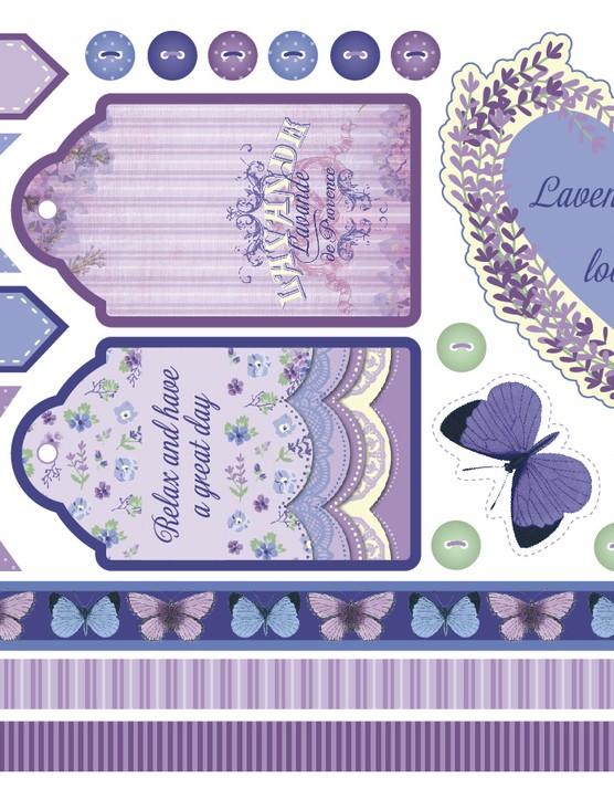 Lavender printables - page 8