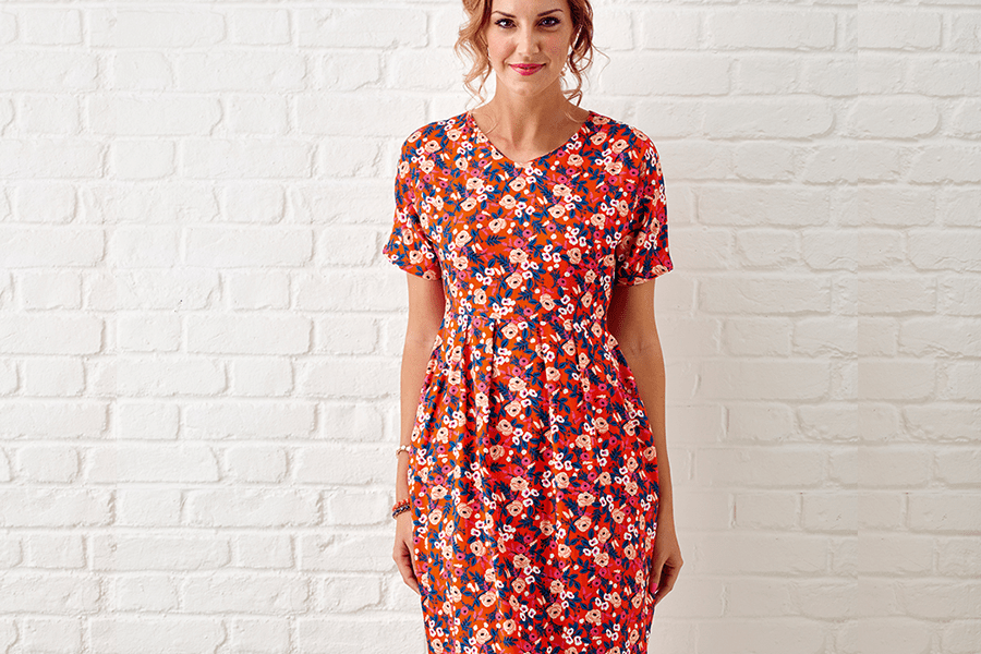 Easy Tulip Dress Sewing Pattern