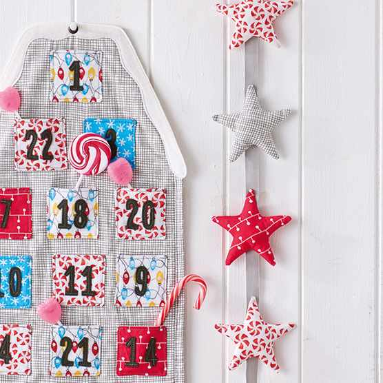 Fabric advent calendar tutorial