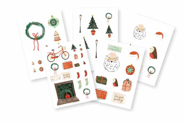 Jolly Santa Claus printables